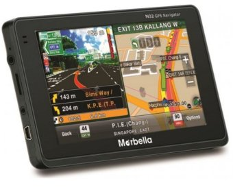 Harga Marbella N32 GPS with Singapore Map