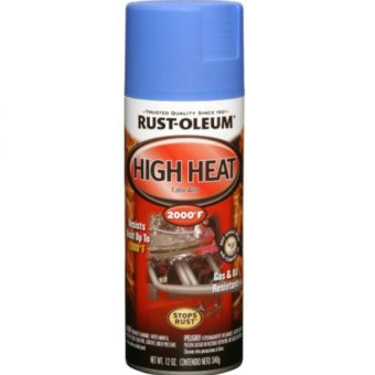 Harga Rust-Oleum Auto High Heat Spray Paint 340g (Flat Blue)