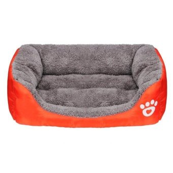 Harga Pet Dog Cat Bed Puppy Cushion House Soft Warm Kennel Dog Mat Blanket OR S - intl