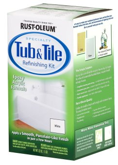 Harga Rust-Oleum Tub and Tile Refurnishing Kit 1Q (White)