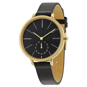 Harga Skagen Women's Holst Black Dial Stainless Steel Watch SKW2354