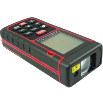 Harga Digital 60 Meter Laser Distance Area Volume Pythagorean w/ Spirit Level Industrial Use