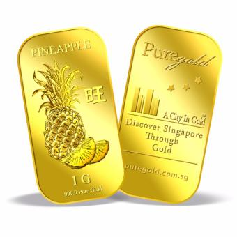 Harga 1g Pineapple Gold Bar