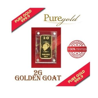 Harga Puregold Golden Goat Gold Bar 2g.