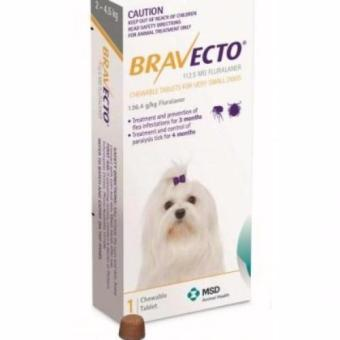 Harga Bravecto Chew Tablet For Very Small Dogs 2-4kg
