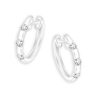Harga Taka Jewellery Galaxe Diamond Earrings (9K White Gold)