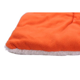 Harga new Y112OrangeS Orange Dog Crate Mat Kennel Cage Pad Bed FLUFFY WASHABLE TRAVEL Pet Cat Dog Cushion