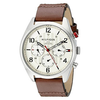 Harga Tommy Hilfiger Men's 1791208 Casual Sport Watch with Brown Band - Intl