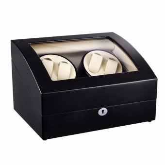 Watch Winder ,LT Wooden Automatic Rotation 4+6 Watch Winder Storage Case Display Box BB - intl