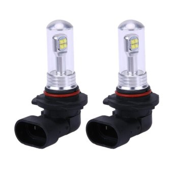 Harga 2pcs 9005/9006/H3/H4/H7/H8 LED 72W 8000LM Car LED Headlights Bulb - intl