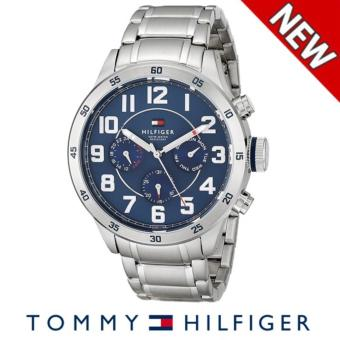 Harga Tommy Hilfiger Men's 1791053 Stainless Steel Watch with Link Bracelet - intl