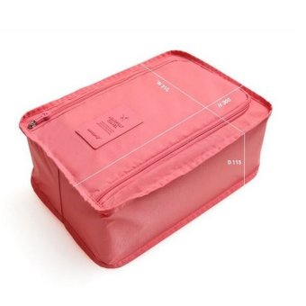 Harga Korean Shoe Bag Pink