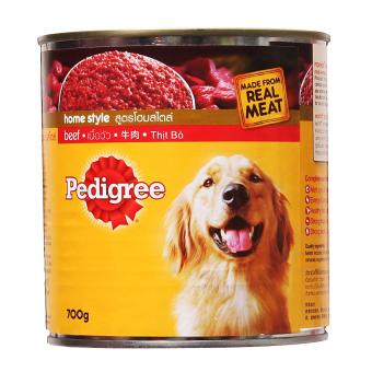 Harga Pedigree Homestyle Beef Recipe for Adult Dog - 1 x 700 g