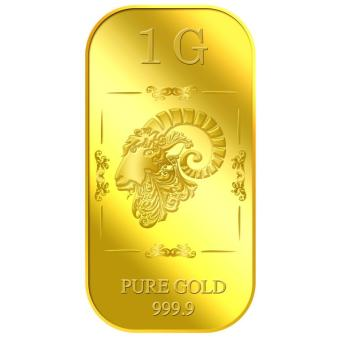 Harga Puregold 1g Golden Ram Gold Bar