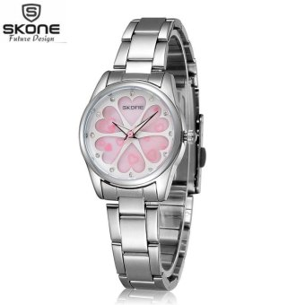 Harga SKONE Women Rhinestone Watch Ladies Quartz Wrist Watch Dress Watches intl