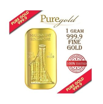 Harga Puregold Singapore Marina Bay Sands Gold Bar 1g.