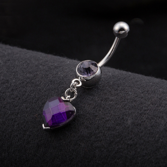 Harga Belly Button Rings Navel Ring Belly Ring Dangle Body Piercing