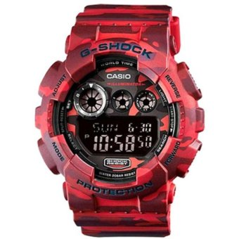Harga Casio G-Shock Special Color Model Watch GD-120CM-4DR