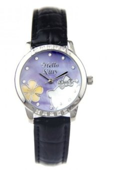 Harga Hello Kitty Leather Strap Watch HKFR1299-01C