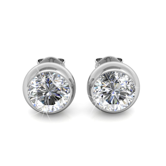 Moon Earrings - Crystals from Swarovski®