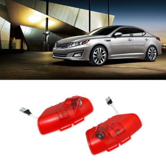 Harga 2x Car LED Courtesy Door Logo Projector Light Ghost Shadow Light For Kia Optima K5 2011-2015 - Intl