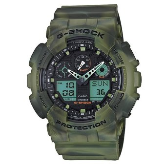 Casio G-Shock Special Color Models Camouflage Series Men's Watch GA100MM-3A