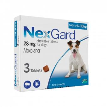 Harga NexGard Chews For Small Dogs 4-10kg - 3 Pack