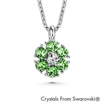 Harga Birthstone Flower Pendant August (Peridot) Crystals from Swarovski®
