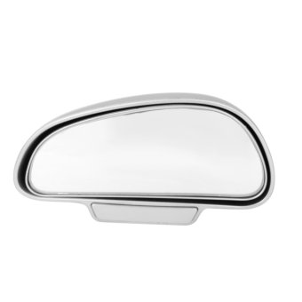 Harga Car Van Adjustable Side Blindspot Wide Angle View Mirror Silver(Export)