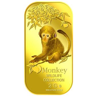 Harga Puregold 2g Baby Monkey Gold Bar