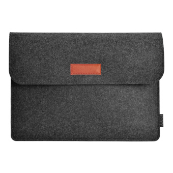 "Harga dodocool 12 Inch Laptop Felt Sleeve Envelope Cover Ultrabook Carrying Case Notebook Protective Bag with Mouse Pouch for 12"" MacBook / 11"" MacBook Air / 12"" Surface Pro 3 and More Dark Gray - intl"
