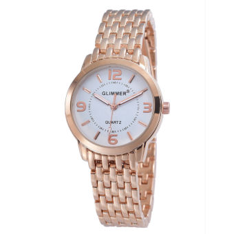 Harga Gilmmer Women Metal Watch 3213 Rose Gold