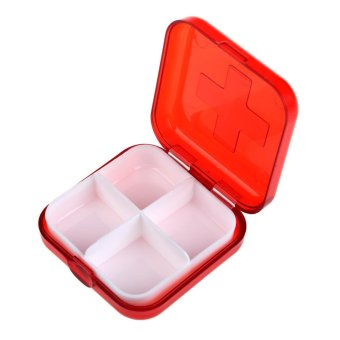 Harga Portabe 4 Ce Epty torage Pi Box Cae for Pi edicine Drug