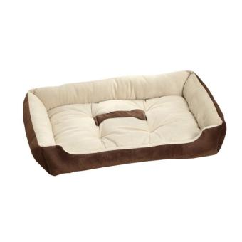 Harga Pet Bed Soft Puppy Cushion Dogs Kennel for Large Dogs Cotton Mats Blanket Suit for 0~30kg Pet House M(coffee) - intl