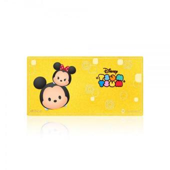 Harga SK Jewellery Disney Tsum Tsum Gold Bar (Mickey & Minnie)