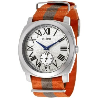Harga A_line Women Watches Pyar Orange and Gray AL-80023-02-OR-NS1