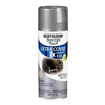 Harga Rust-Oleum Ultra Cover 2X Spray Paint 12oz (Aluminium)