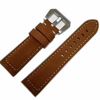 Harga Natural-Grain Leather Watch Strap Replacement (24mm)