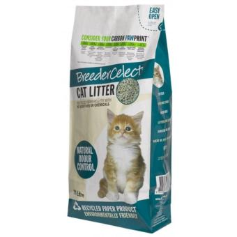 Harga Breeder Celect Cat Litter Recycled Paper Pellets 30L