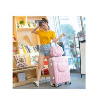 Harga 3D Hello Kitty Luggage (Pink) Size : 24inch