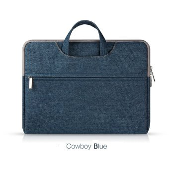 Harga Jiaing Cowboy Style Laptop Shoulder Bag Protective Cover Messenger Briefcase Case for Apple, Microsoft,Surface, Acer, Asus, Dell, Fujitsu, Lenovo, HP, Samsung, Sony, Toshiba (11 inches)