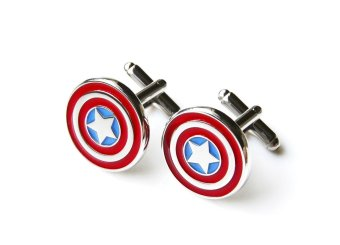 Harga The Linked Cuff Captain America Cufflinks