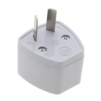 Harga Vanker White Universal UK/US/EU/AU to AU Australian Travel Power Adapter Plug converter