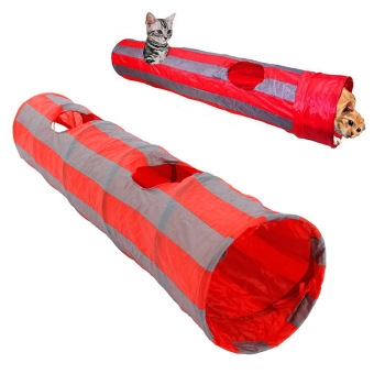 Harga PAlight Foldable 2 Holes Pet Cat Tunnel