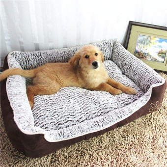 Harga Dog Bed Detachable Pet House / Kennel Cat Puppy Beb Mat XL