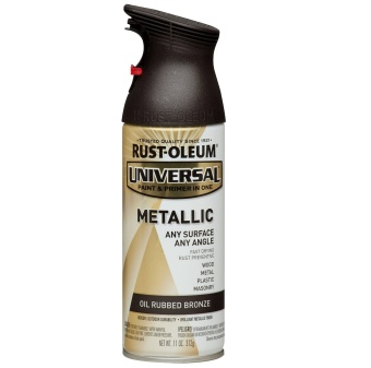 Harga Rust-Oleum Universal Spray 11oz (Oil Rubbed Bronze)