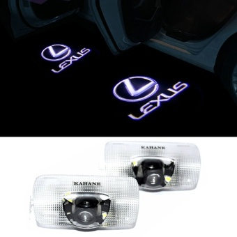 Harga 2pcs LED Car door Welcome laser projector Logo Ghost Shadow Light For Lexus RX GS 300 400 430 350 450 h HS IS LS LX 570 ES SC - intl