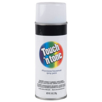 Harga Rust-Oleum Touch n Tone Spray 10oz (Gloss White)