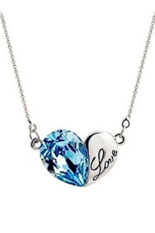 Harga Swarovski® Element Heart Ocean Necklace