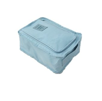 Harga Korean Shoe Bag Light Blue